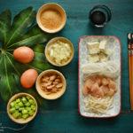 ingrédients pad thaï