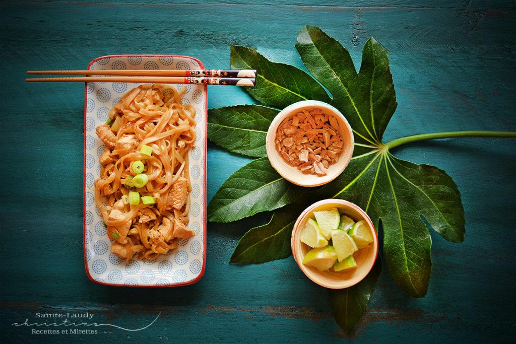 Assiette pad thaï