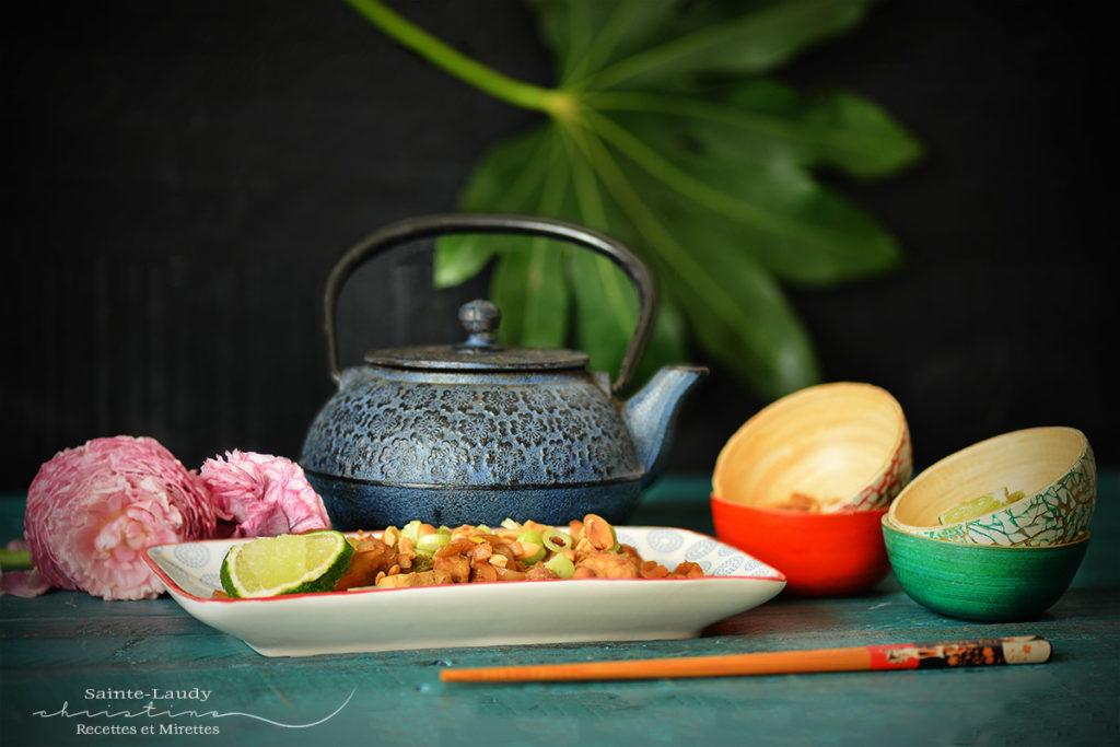 plat présentation pad thaï